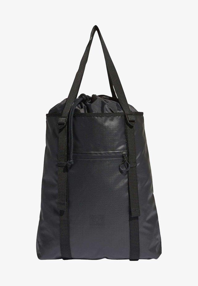CINCH TOTE BAG - Shoppingväska - black