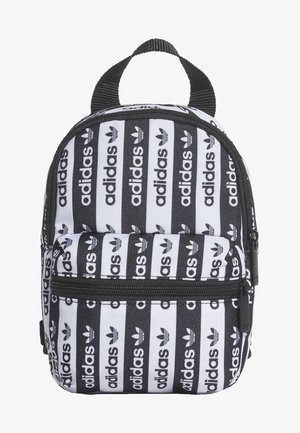 R.Y.V. MINI BACKPACK - Reppu - black/white