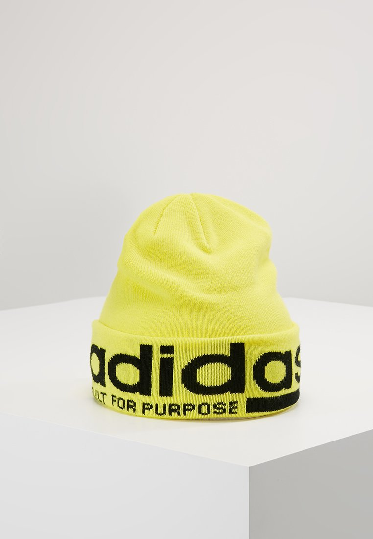 adidas Originals - BEANIE - Muts - shock yellow/black