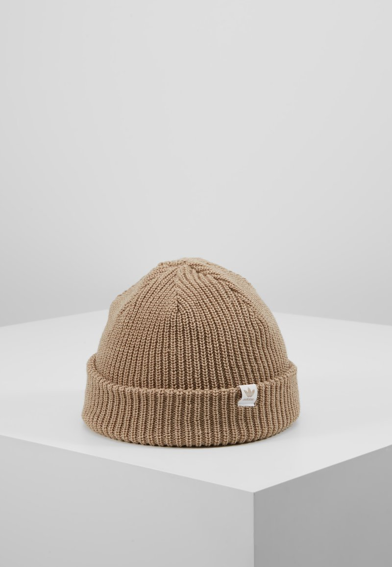 adidas Originals - SHORTY BEANIE - Beanie - trakha/white