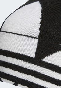 adidas Originals - ADICOLOR LARGE TREFOIL CUFF KNIT BEANIE - Lue - black - 1