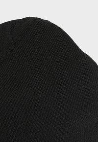 adidas Originals - ADICOLOR LARGE TREFOIL CUFF KNIT BEANIE - Lue - black - 3