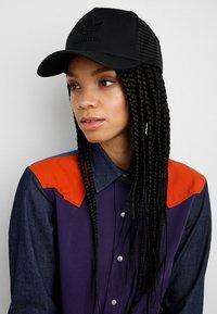 adidas Originals - TRUCKER - Cap - black - 4