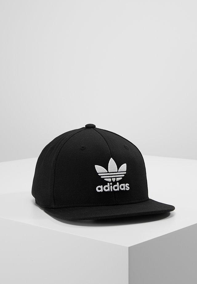 Snapback Trefoil Cap - Keps - black/white