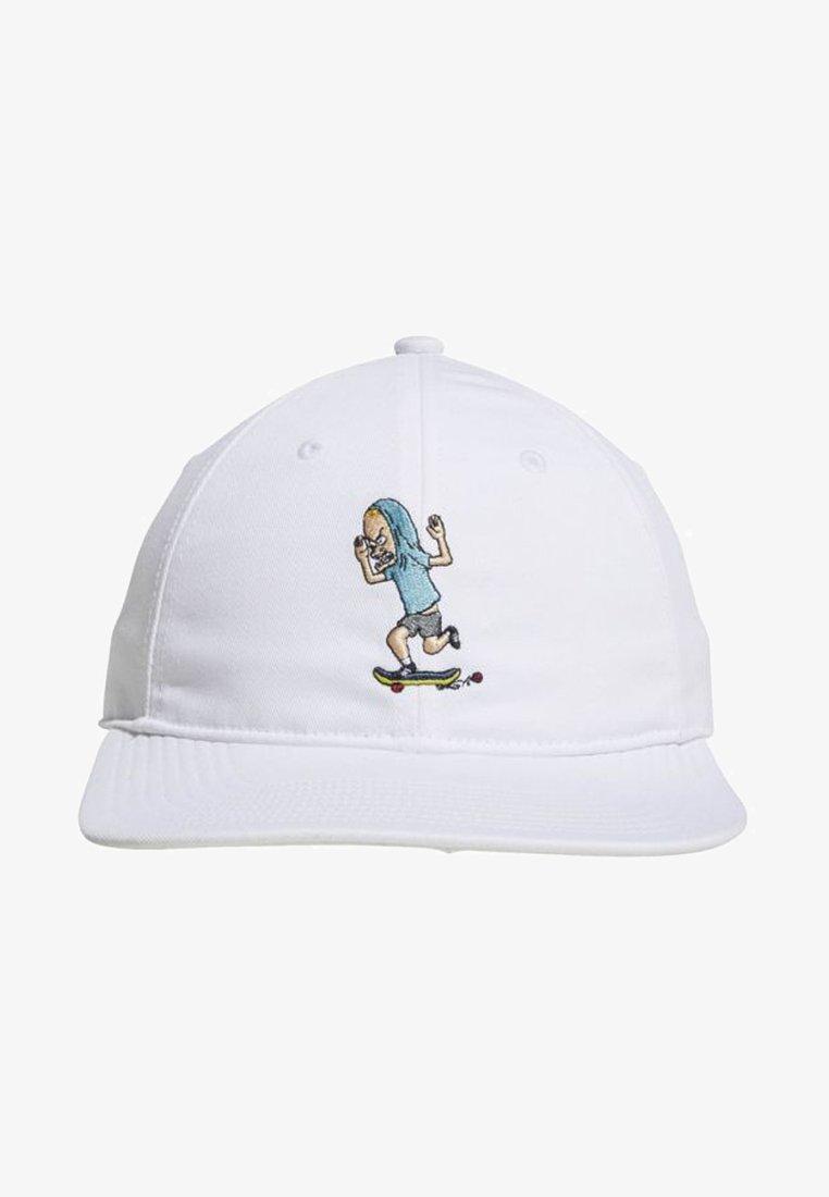 adidas Originals - BEAVIS AND BUTTHEAD HAT - Cap - white