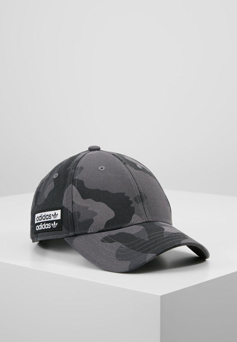 adidas Originals - VOC CAMO BALL - Cap - grefou/black/white