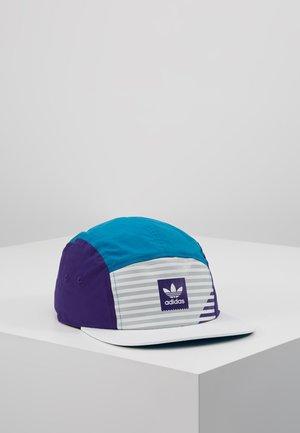 Cap - white/purple/act tea
