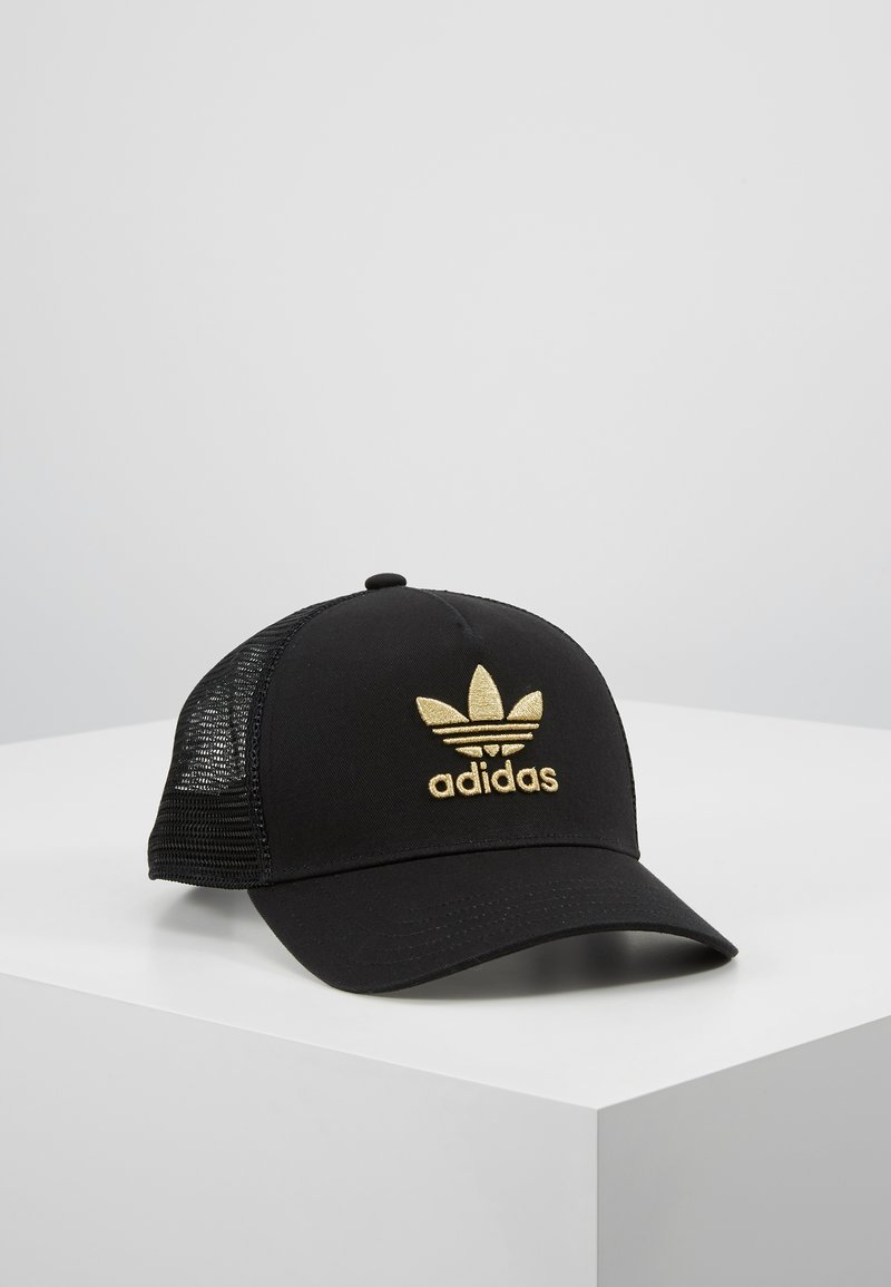 adidas Originals - TRUCKER - Caps - black/gold