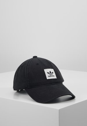 WASHED DAD CAP - Casquette - black