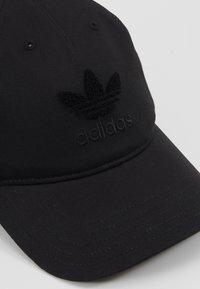 adidas Originals - CHENILLE DAD - Caps - black - 5