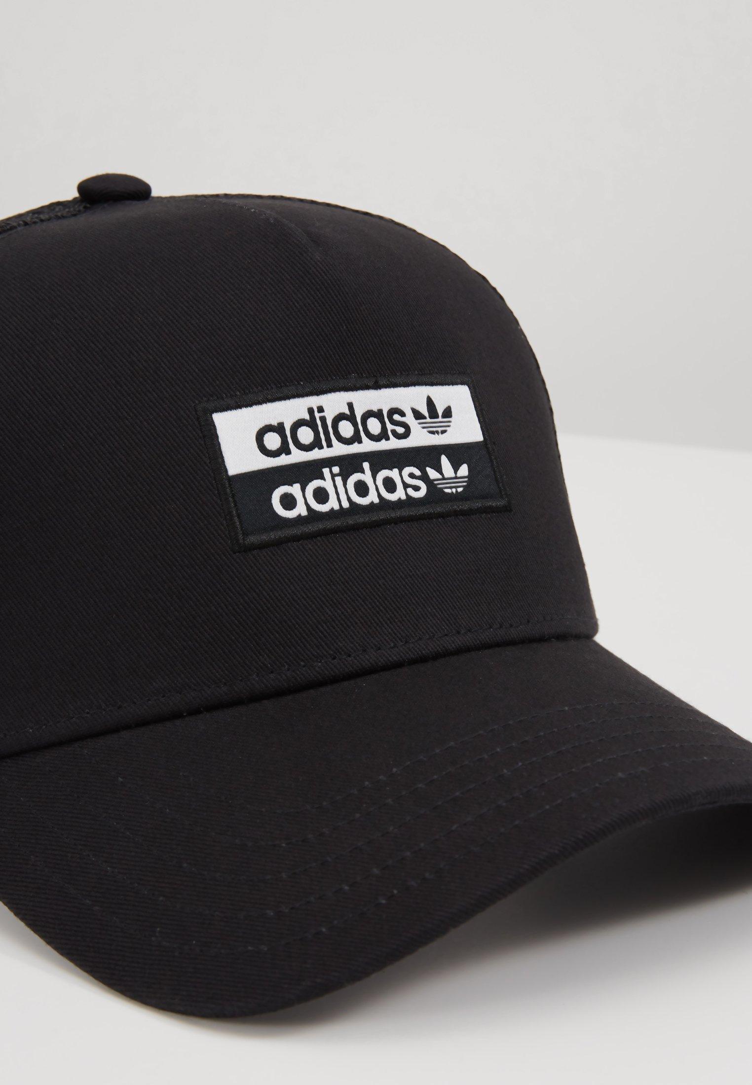 adidas Originals Cappellino - black/white Ikpn6hOP
