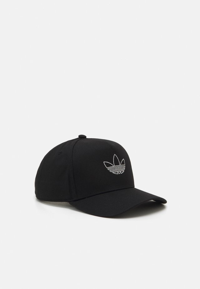 OUTLINE TRUCKER UNISEX - Lippalakki - black