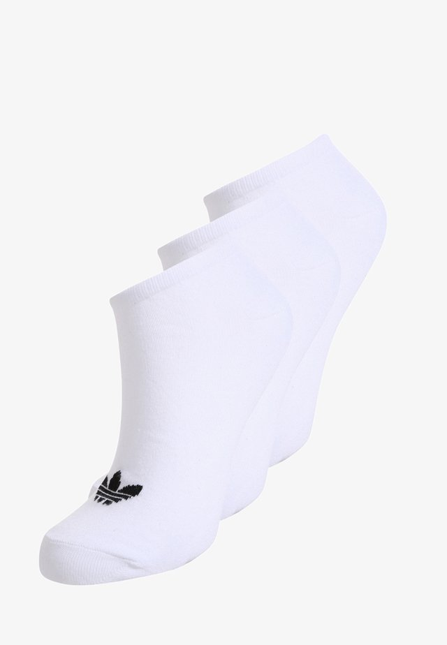 3 PACK - Calcetines - white/black