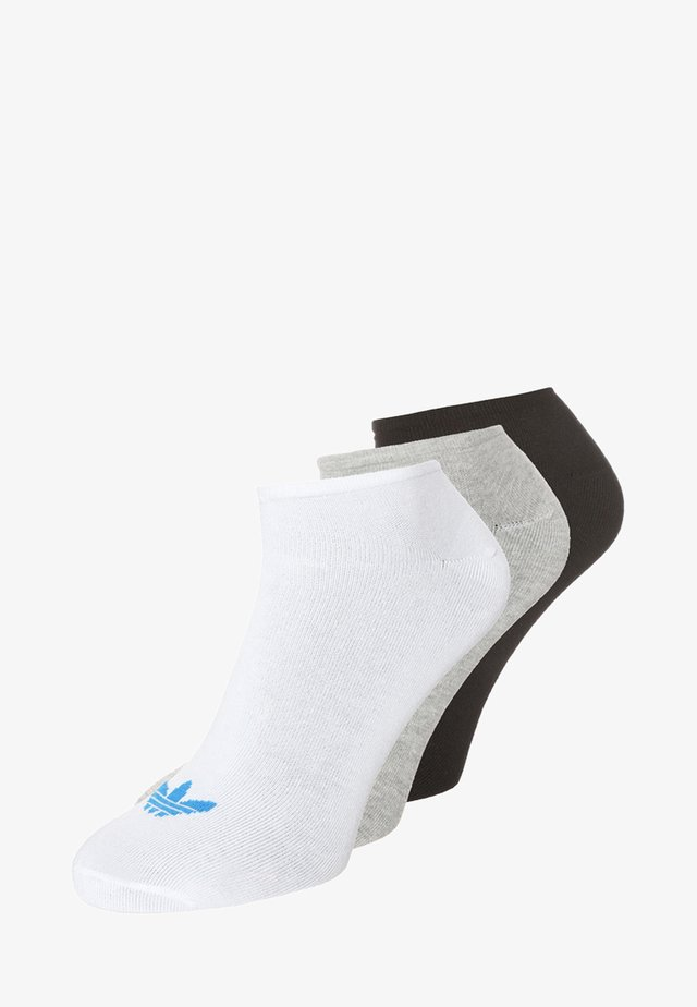 3 PACK - Calcetines - white/black/grey