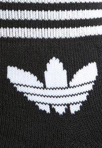 adidas Originals - TREFOIL ANK 3 PACK - Sokken - black - 1