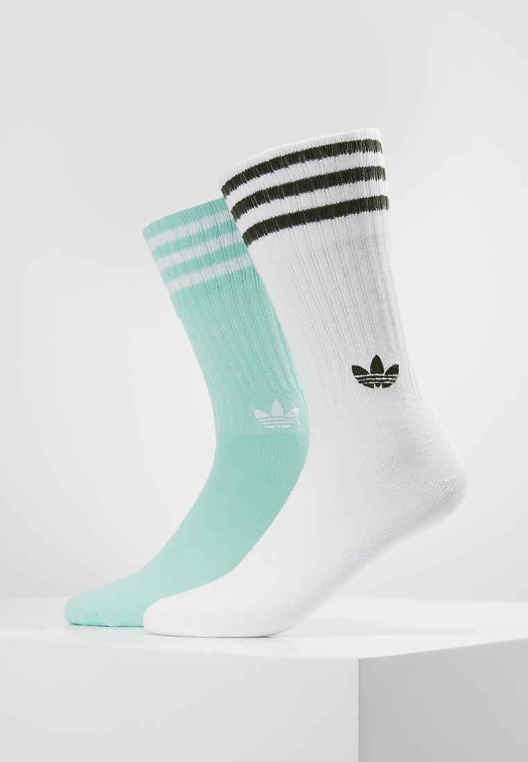 adidas Originals - SOLID CREW 2 PACK - Socks - white