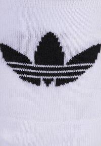 adidas Originals - NO SHOW 3 PACK - Füßlinge - white/black - 1