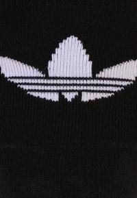 adidas Originals - NO SHOW 3 PACK - Stopki - black/white - 3