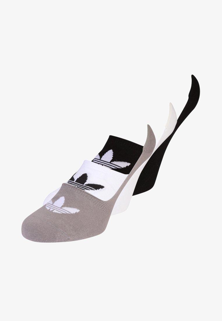 adidas Originals - NO SHOW 3 PACK - Stopki - black/white