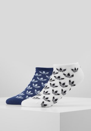 LINER 2 PACK - Trainer socks - skytin/white