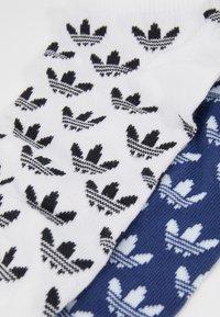 adidas Originals - LINER 2 PACK - Enkelsokken - skytin/white - 2