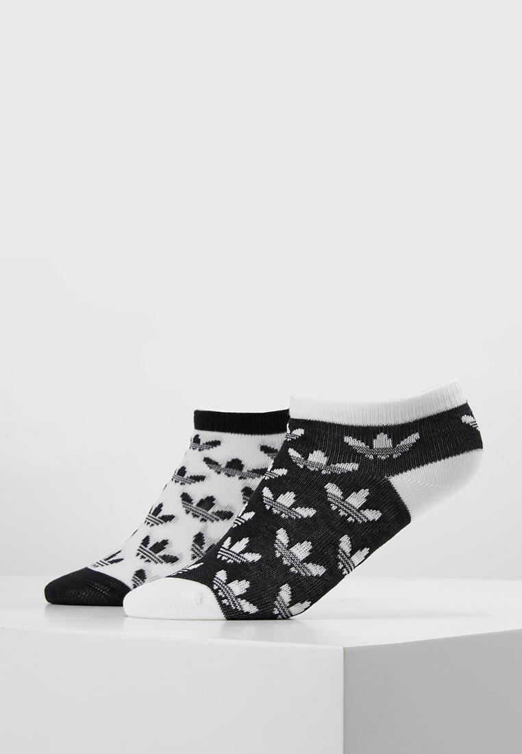 adidas Originals - LINER 2 PACK - Sportovní ponožky - black/white
