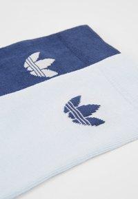 adidas Originals - THIN TREF CREW 2 PACK - Sokken - skytin/tecind - 2