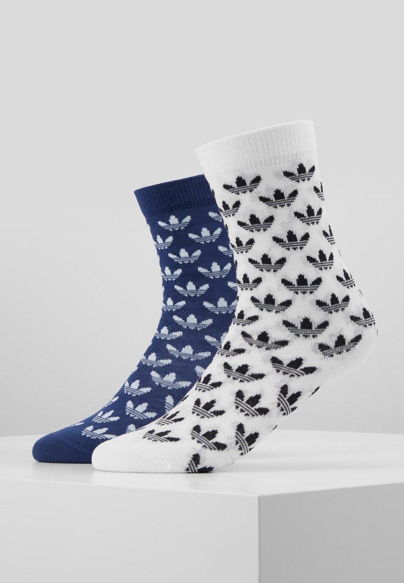 adidas Originals - THIN 2 PACK - Sokker - skytin/white