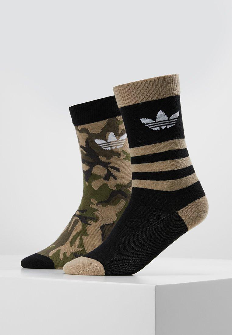 adidas Originals - CREW 2 PACK - Socken - multicolor/black/white