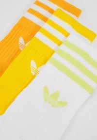 adidas Originals - MID CUT 3 PACK - Strumpor - actgold/yellow/white - 2