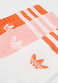 adidas Originals - MID CUT 3 PACK - Sokker - pink/white - 3