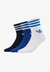 adidas Originals - MID CUT 3 PACK - Strumpor - conavy/croyal/white - 1