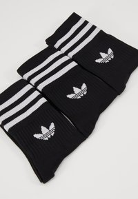 adidas Originals - MID CUT 3 PACK - Strumpor - black/white - 2