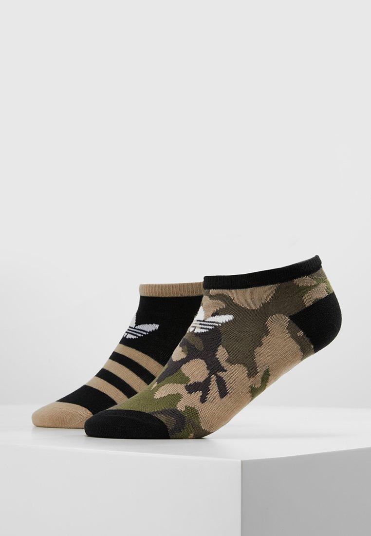 adidas Originals - LINER 2 PACK - Trainer socks - multicolor/black/white