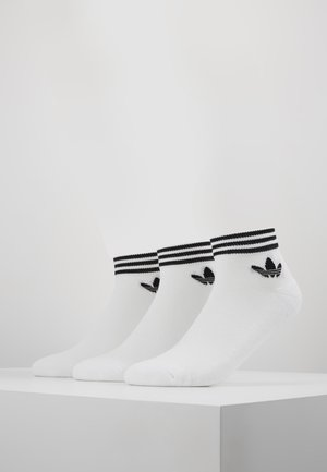 3 PACK - Strumpor - white/black