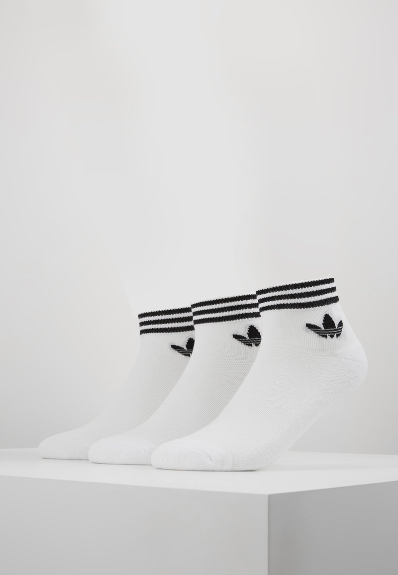 adidas Originals - 3 PACK - Socks - white/black