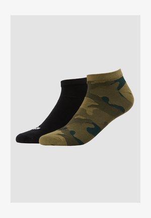 CAMO LINER 2PP - Ponožky - black/olicar
