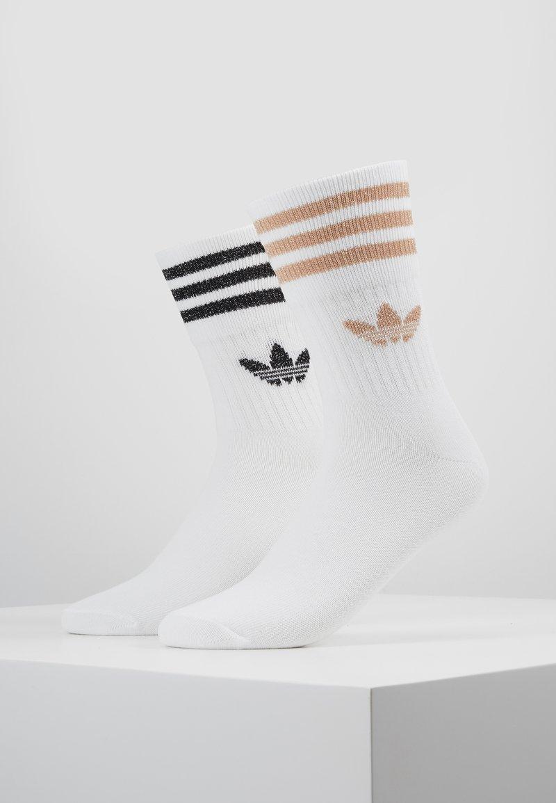 adidas Originals - 2PACK - Socken - white/ashpea/black