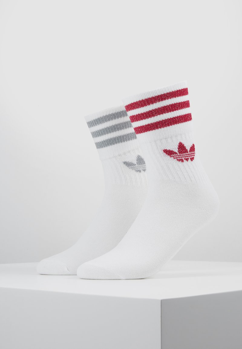 adidas Originals - 2PACK - Sukat - white/ light pink