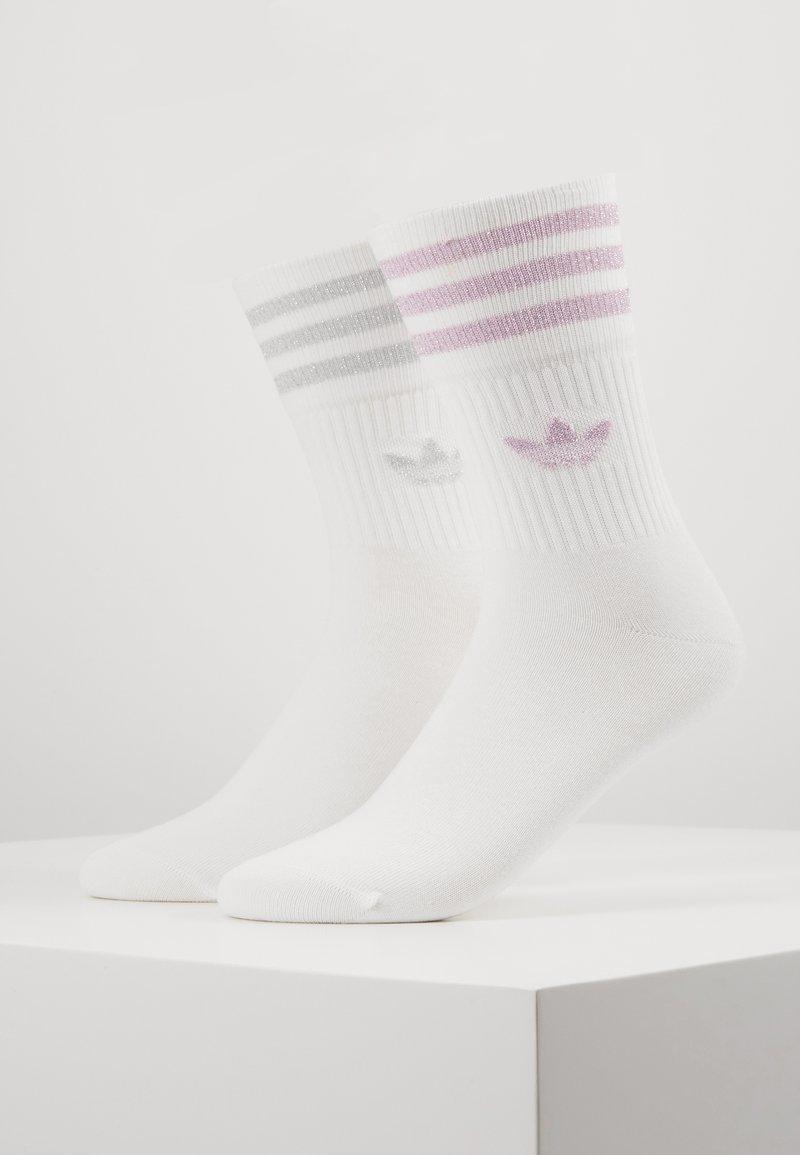 adidas Originals - 2 PACK - Calze - white