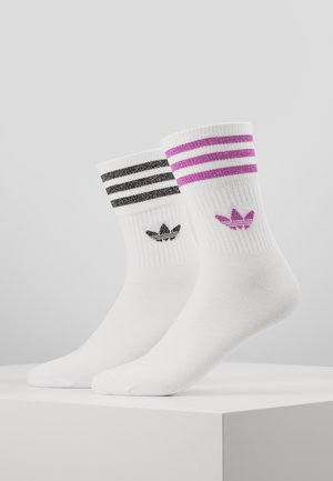 2 PACK - Socks - white/white