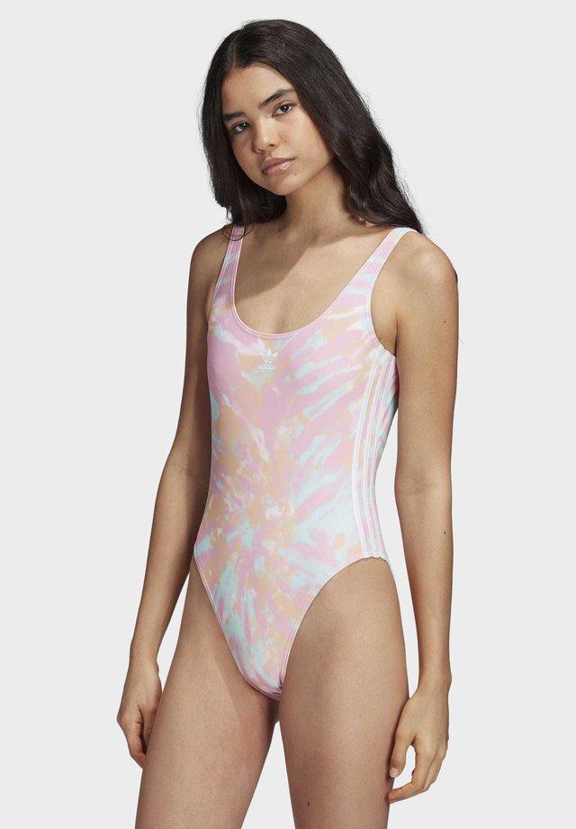 ONE-PIECE SWIMSUIT - Kostium kąpielowy - pink