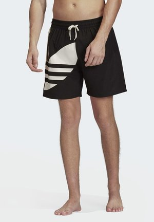 BIG TREFOIL SWIM SHORTS - Badeshorts - black