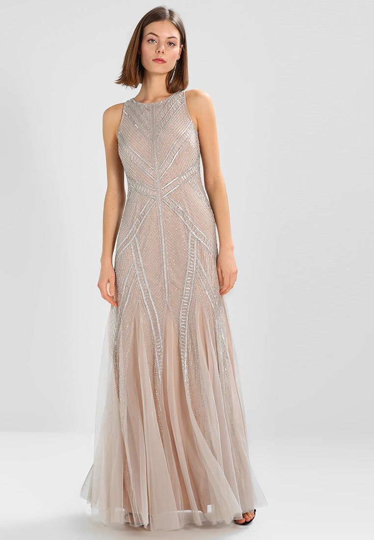 Adrianna Papell - Occasion wear - silver/nude