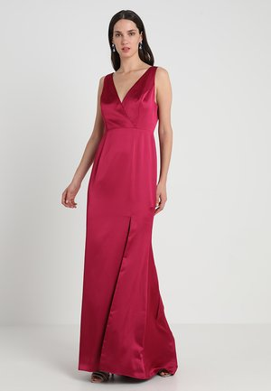 Occasion wear - red plum