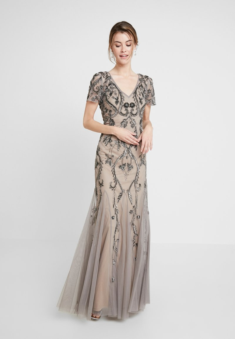 Adrianna Papell - Occasion wear - mercury/nude