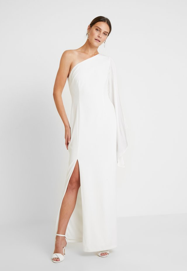 ONE SHOULDER GOWN - Ballkjole - ivory