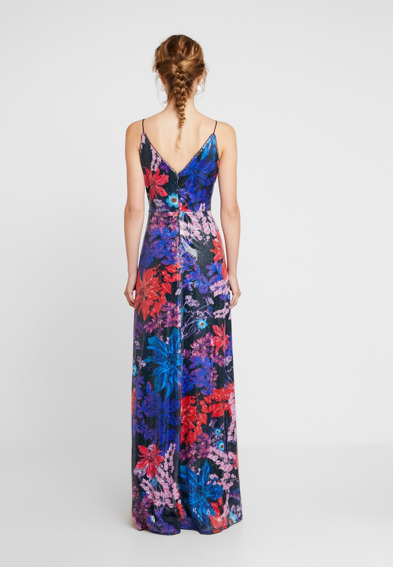 Adrianna Papell - PRINT SEQUIN DRESS - Occasion wear - red/multi