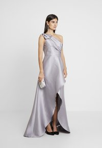 Adrianna Papell - MIKADO LONG DRESS - Robe de cocktail - silver - 2