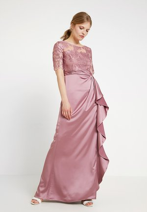 EMBROIDERED LONG DRESS - Ballkleid - rose